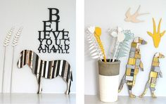 Wallart, wooden words and wooden decor, made in South Africa