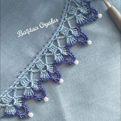 Latest Knitted Shawl Models - 59 Most Unique Crochet Needlework Models of 2019 - Crochet Border Patterns, Crochet Lace Edging, Unique Crochet, Crochet Squares, Baby Knitting Patterns, Crochet Flowers, Easy Crochet, Filet Crochet, Crochet Cross