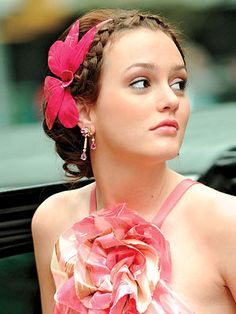 oh my beautiful Blair Waldorf, you are as pretty as the butterfly on your hair.  xoxo  Gossip Addict Girl :)