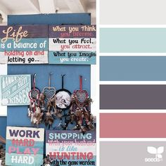 today's inspiration image for { santa monica hues } is by @peoniesncream ... thank you, Beatriz, for another fantatic #SeedsColor image share!
