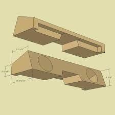 subwoofer box design for 12 inch – Google-haku