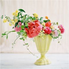 i want to have a bouquet of flowers on my table all the time
