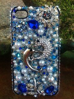 Stunning Dolphin iPhone 4/4s case by Kianaskases on Etsy, $62.00