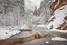 Red Rock Winter by Valerie Millett | Flickr - Photo Sharing!