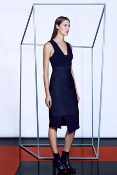 Stunningly tailored aproned perfection.  Camilla and Marc Fall 2014 Ready-to-Wear Collection Slideshow on Style.com