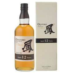Ootori Japanese Blended Whisky 12 Years Old Blended Whisky, Japanese Whisky, Wine And Liquor, Scotch Whiskey, 12 Year Old, Fun Drinks, Cigars, Bourbon, Scotch Whisky