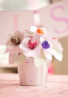 Unique Graduation Table Centerpieces |