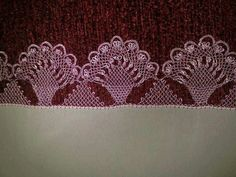 This Pin was discovered by azi Needle Tatting, Needle Lace, Bobbin Lace, Crochet Unique, Crochet Lace, Embroidery Needles, Hand Embroidery, Crochet Hammock, Knitting Patterns