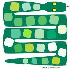 Plateau pour jeu phono son S (placer images avec ou sans son S) Jungle Safari, Jungle Animals, Jungle Theme, Reptiles Et Amphibiens, Rainforest Theme, Snake Art, English Worksheets For Kids, Baby Illustration, Vbs Crafts