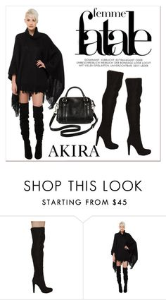 """Shop Akira III/8"" by amra-mak ❤ liked on Polyvore featuring Akira Black Label, Merona and shopakira"