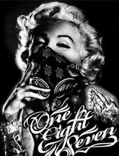 Gangsta Marilyn  Monroe Pinterest