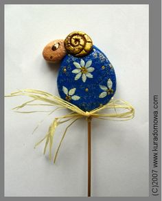 Salt dough ornament for Easter / Wielkanoc - baranek z masy solnej