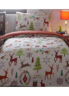 Mid Winter Toddler Bedding Father Christmas Kids Xmas Bed