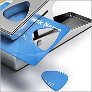 Can I have one puuhhleassee? Guitar pick puncher... punches pick out of old credit card, gift cards, carton tops, etc. DOPE
