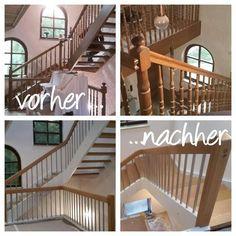 Treppe gepimpt | renoviert ♡
