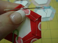 Hexie Paper Piecing Tutorial - Part 1 by Lori Holt