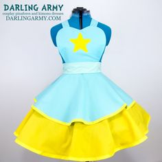 Pearl Steven Universe Cosplay Lolita Pinafore Dress Accessory | Darling Army