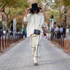 The New Look: Business-Hosen mit weitem Bein | Edition F