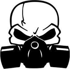 a boy scout wearing a gas mask is ready for action as a war rh pinterest com Skull Gas Mask Skull Mask Drawing