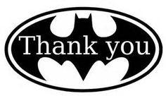 thank you batman clip art - Bing Images