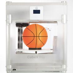 3色成形できる家庭用3Dプリンタ CubeX & 新 Cube