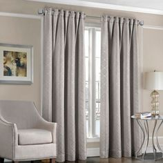 Designers' Select™ Satin Diamond Rod Pocket/Back Tab Window Curtain Panel - BedBathandBeyond.com