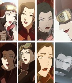 Asami Sato my favorite character from Avatar: The legend of Korra