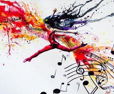Sheet Music  by Vivien Szaniszlo SzaViArt