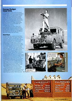 Article from Land Rover Owner International - December edition