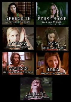 Buffy/goddess collage! Shared from buffyextreme on facebook.