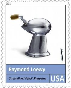 """Never leave well enough"": http://d-b-z.de/web/2013/11/05/raymond-loewy-design-briefmarken/"