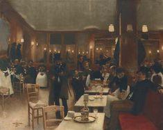La brasserie, 1883,  Jean Béraud. French (1849 - 1936)