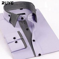 2016 Men'S Long Sleeve Brand Dress Shirts Commercial Personalized Striped Shirts Formal Tuxedo Shirt Men'S Shirts S-3XL XG8-184|6e31cade-b3c9-4245-a0a5-7404d1204e69|Tuxedo Shirts