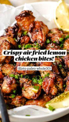 Air Fryer Oven Recipes, Air Frier Recipes, Air Fryer Dinner Recipes, Brunch Recipes, Paleo Recipes, Low Carb Recipes, Appetizer Recipes, Appetizers, Cooking Recipes