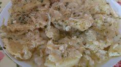 Guiso de patatas rebozadas
