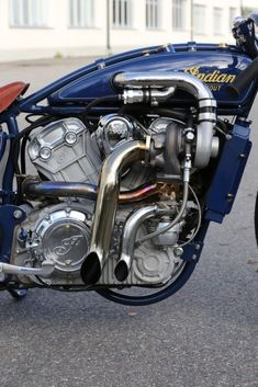 Indian Scout Custom 'Super Scout' [Turbo-Engine] Fullhouse Garage Shop & Roth Engineering