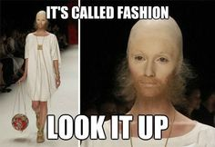 Memes, Jokes, Funny Pictures To Make Your Day. Hilarious Pictures Which Will Tickle Your Funny Bone. Fashion Fail, Funny Fashion, Fashion Looks, Fashion Humor, High Fashion, 50 Fashion, Weird Fashion, Paris Fashion, Style Fashion