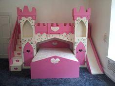 loft above double bed castle - Google Search