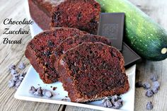 Super-moist, tender and delicious is this Double Chocolate Zucchini Bread. My kids really love this and they don't care even if there are veggies in it. It's that good! ! #double #chocolate #zucchini #bread