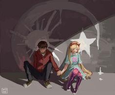 Cuando dos personas están destinadas a estar juntas a pesar de las dificultades siempre lo estarán . ❤️ #Starco #Love