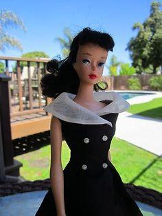 1960 Barbie #4 Ponytail Dressed After Five #934