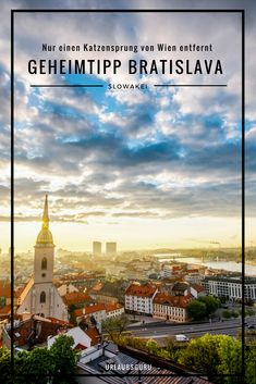 Have you ever been to Bratislava, the capital of Slovakia? Then it will be # Requirements Worldwide Travel, Bucharest, Best Cities, Eastern Europe, Study Abroad, Where To Go, Vienna, Edinburgh, Places To Travel