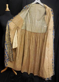 """RARE Orig Antique Victorian Pre Civil War Calico Cotton Print wrapper 