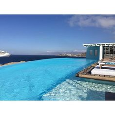 cavo tagoo | mykonos, greece | #onthedftravels #beach #pool #greece #mykonos