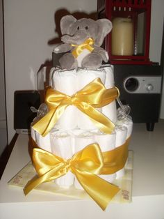 Lemon Nappy Cake