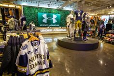 """Under Armour Opened Chicago's First """"Brand House"""" Specialty Retail Store  Way better than the Nike store! Under Armour did a great job with this store!"""