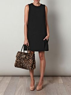 Marc Jacobs Wool A-line dress