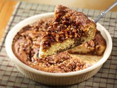 1-Dish Caramel Pecan Coffee Cake