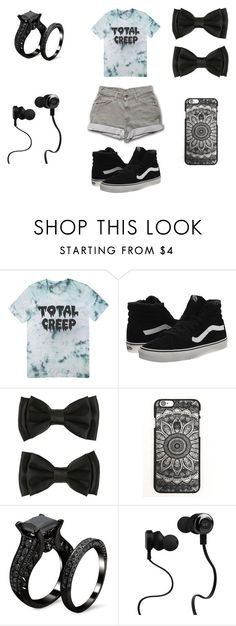 """""""Untitled #33"""" by anya-atkins ❤ liked on Polyvore featuring Vans, Monster, women's clothing, women, female, woman, misses and juniors"""