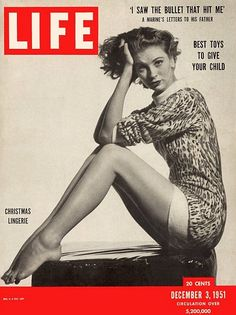 Suzy Parker on the cover of 1951 LIFE magazine
